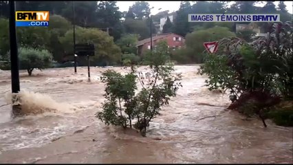 Témoins BFMTV : Nîmes plongée sous les eaux