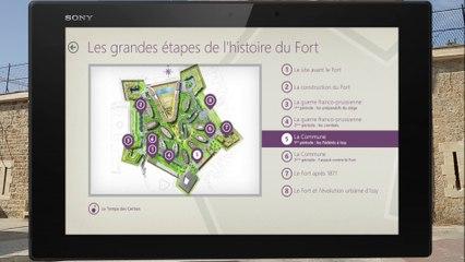 Découvrez les parcours numériques du Fort d'Issy