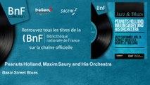 Peanuts Holland, Maxim Saury and His Orchestra - Basin Street Blues