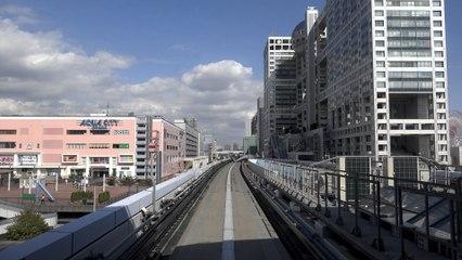 Tokyo Yurikamome Hyperlapse