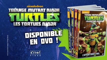 Tortues Ninja en DVD !