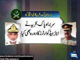 Dunya News - Naval Chief meets Army Chief, discusses professional affairs
