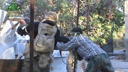 معارك ضارية يخوضها مجاهدو جيش الإسلام في الغوطة الشرقية المحاصرة