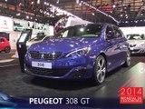 La Peugeot 308 GT en direct du Mondial de l'Auto 2014