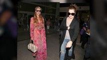 Khloé Kardashian, Paris Hilton et Lionel Richie sur le même vol