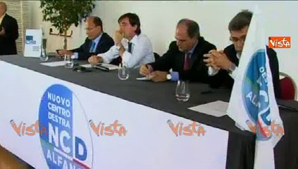 13-10-14 ALFANO E STATO BERLUSCONI A SCEGLIERE ALLEANZA CON PD w00_49