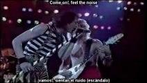 "Quiet Riot ""Cum On Feel The Noize"" (Sub.Español) {Miros Mar}¸.•*¨*• ♪♫"