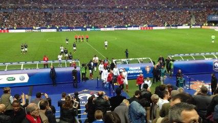 France - Portugal : Rentrée des joueurs à la MT