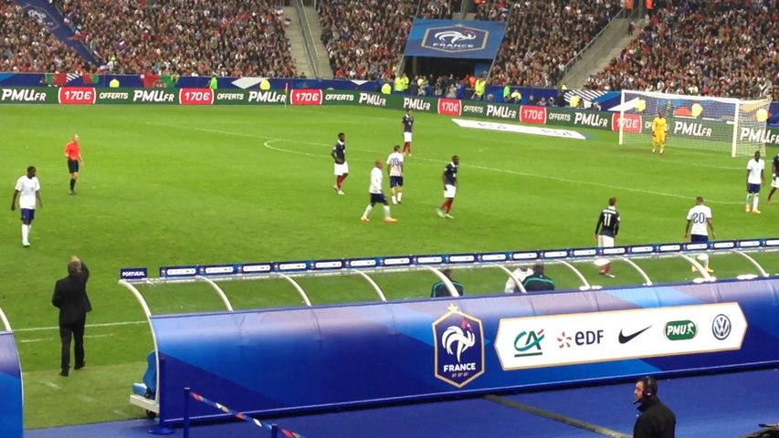 France - Portugal : Sortie de Cristiano Ronaldo