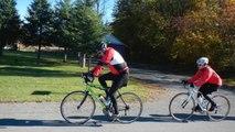 Randonnée cycliste de St-Eustache à Ste-Scholastique le 12 oct 2014.