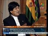 Entrevista con Evo Morales