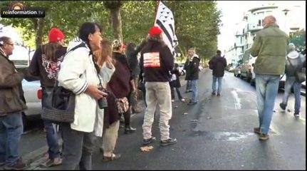 Les Bonnets rouges devant le tribunal de Brest