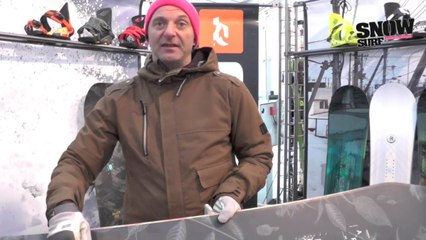Matos snowboard 2015 : Ride Snowboards