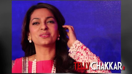 Tellychakkar.com meets Juhi Chawla at the launch of Sony Pal