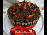 Bolos(Cakes) de Chocolate Recheados e Decorados #4 - Doce Mel Doces