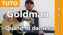Jean-Jacques Goldman - Quand tu danses - Cours Guitare