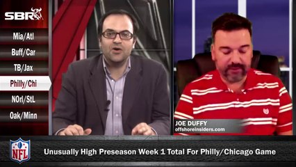 NFL Preseason Betting Week 1: Philadelphia Eagles vs Chicago Bears w/ Joe Duffy, Loshak