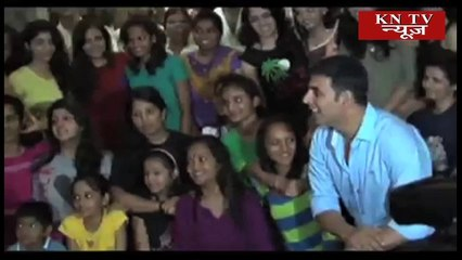 Akshay spoke about the importance of martial arts