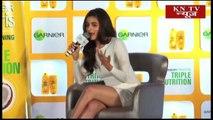 Alia Bhatt unveils the new Garnier Fructis shampoo