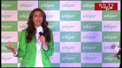 Parineeti Supports 'Whisper Touch The Pickle' Campaign