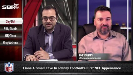 NFL Preseason Betting Week 1: Cleveland Browns vs Detroit Lions w/ Joe Duffy, Loshak