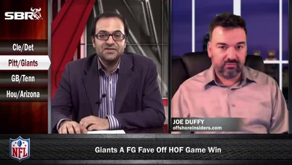 NFL Preseason Betting Week 1: Pittsburgh Steelers vs New York Giants w/ Joe Duffy, Loshak