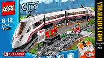 LEGO City - High-speed Passenger Train (60051) - Review