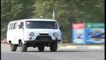Le convoi russe progresse vers la frontière ukrainienne