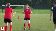 Premier entraînement pour les féminines du Stade de Reims