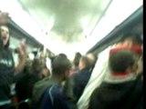 psg ambiance metro! ici cest PARIS!!!!
