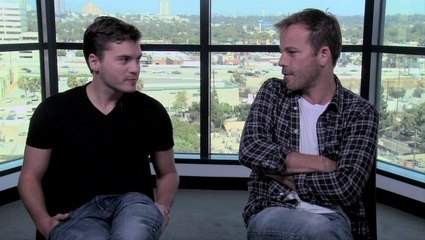Emile Hirsch and Stephen Dorff on The Motel Life