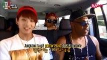 [SUB ITA] Scene Inedite - BTS American Hustle Life ep 2 - J-Hope, Jimin e Jungkook in auto con Coolio