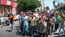 Gazze Şeridi'nde patlamamış İsrail füzesi infilak etti: 6 ölü