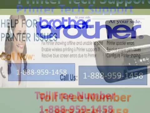 Contact Brother Tech Support-1-888-959-1458-Number for Technical Support