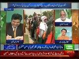 Talal Chaudhary(PMLN) Making Fun Of Imran Khan & Tahir Ul Qadri March In Kamran Shahid Show