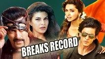 Salman Khan's Kick Beats SRK's Chennai Express Record !