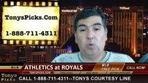MLB Pick Prediction Kansas City Royals vs. Oakland Athletics Odds Preview 8-14-2014