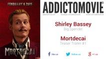 Mortdecai - Teaser Trailer #1 Music #1 (Shirley Bassey - Big Spender)