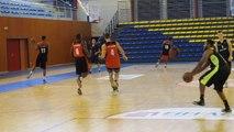 Basket-ball (Pro B) : les drôles d'exercices à l'entraînement
