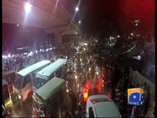 Live Updates: Sit-in on Kashmir Highway, says Imran | Pakistan - Geo tv