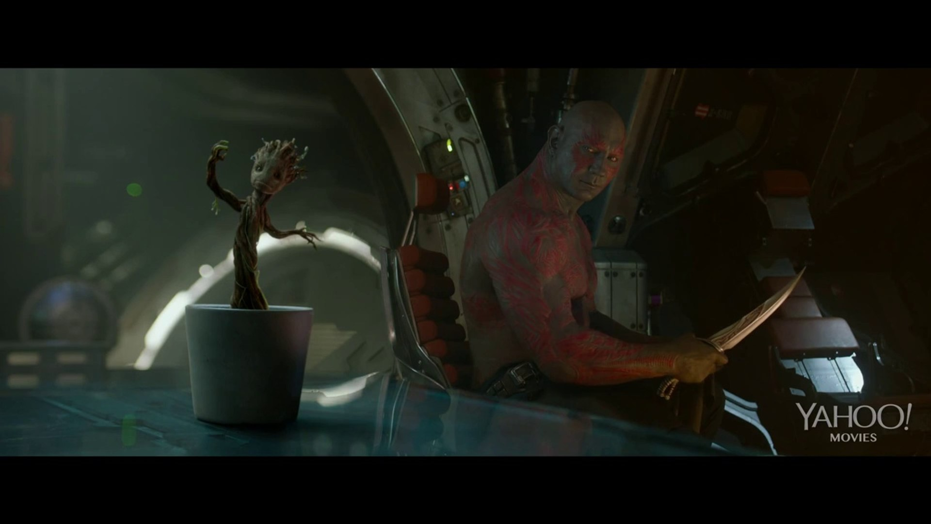 [HD] Guardians of the Galaxy - Dancing Baby Groot Scene