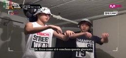 [SUB ITA] Scene Inedite - BTS American Hustle Life ep 3 - Jimin e Jin si allenano insieme