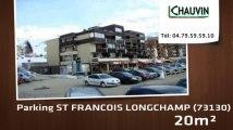 A vendre - parking - ST FRANCOIS LONGCHAMP (73130) - 20m²