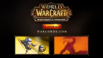 World Of WarCraft : Warlords Of Draenor - Cinématique d'intro (GC 2014)
