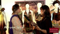 Maryam Iqbal, Fashion Design Degree Show, Hajvery University (HU)