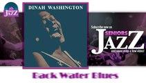 Dinah Washington - Back Water Blues (HD) Officiel Seniors Jazz