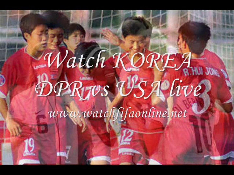 KOREA DPR VS USA Womens Football Under 20 Live Match