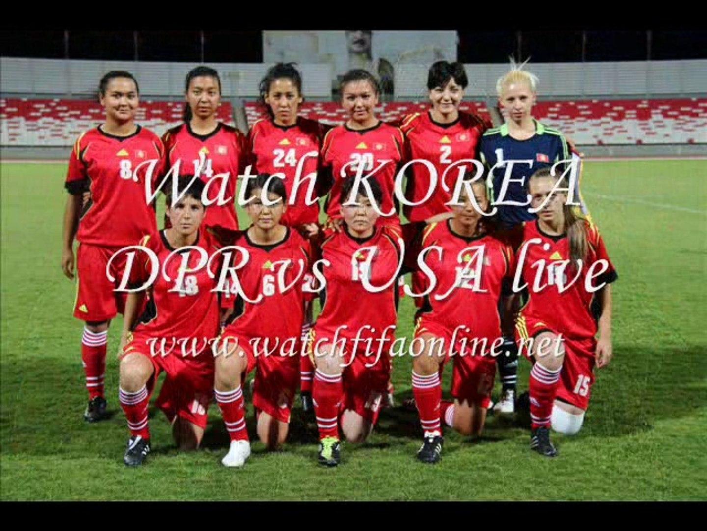 Live KOREA DPR VS USA Womens Football Under 20 Streaming
