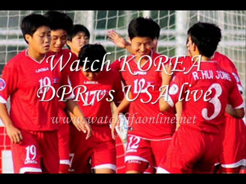Watch KOREA DPR VS USA Womens Football Under 20 Online