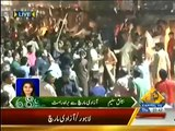 Clash Between PMLN Workers & PTI Workers In Azadi March